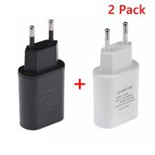 충전기 자료, usb 벽돌, 2 팩 고속 충전 블록 usb 콘센트 플러그 충전기 기본 상자 플러그 아이폰, lg, 소니, 삼성