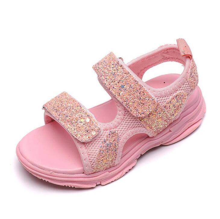 Bambino comodo sandali di estate di nuovo delle ragazze del ragazzo scarpe da spiaggia per bambini sandali casuali dei bambini di sport di modo sandali 21-30Bambino comodo sandali di estate di nuovo delle ragazze del ragazzo scarpe da spiaggia per bambini sandali casuali dei bambini di sport di modo sandali 21-30