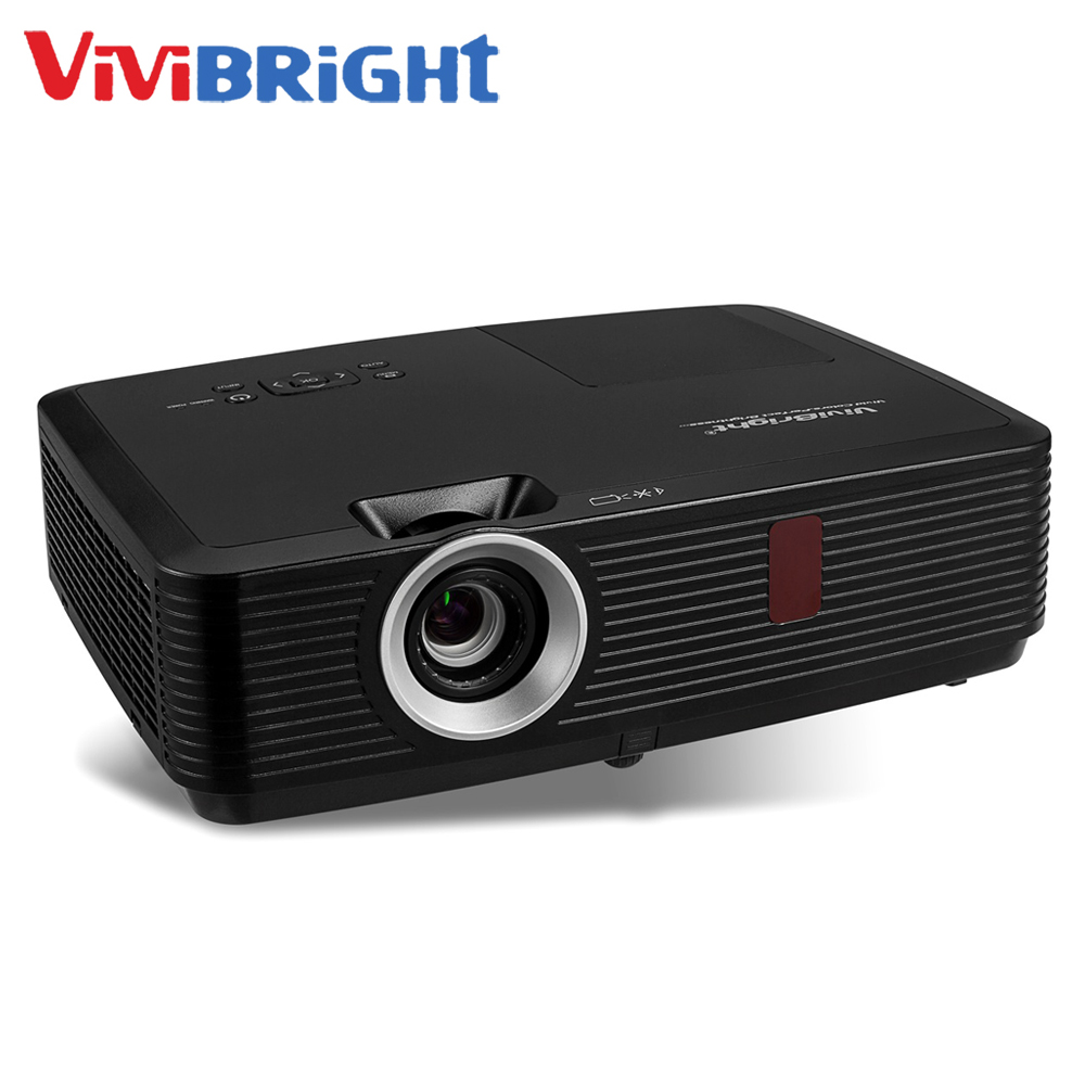 VIVIBRIGHT PRX570L, 3500 ANSI Lumens LCD Projector for Business & Teaching & Home Film , Long Throw Projectorm, 1024x768Pixels