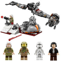 LEPIN 05141 Star Wars 836Pcs The Defense Of Crait Set Building Blocks Bricks Educational Toys For Compatible With Legoings