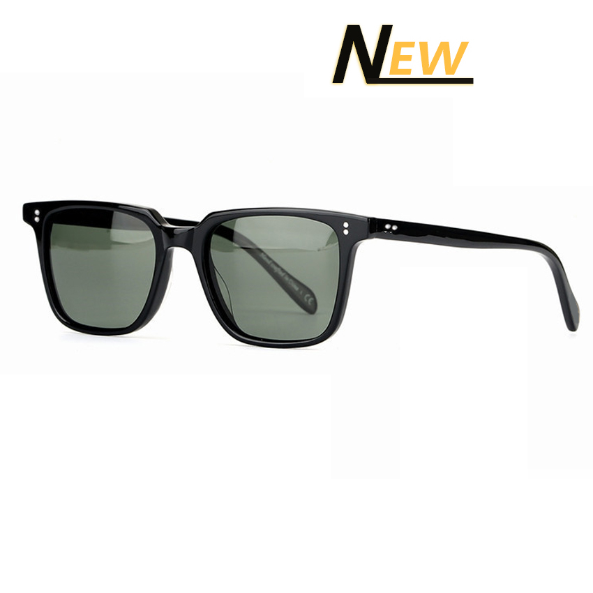 Brand Design Oliver Classic Acetate Polarized Sunglasses Women Men Outdoor Sun Glasses with Colored Lens UV400 Gafas de sol