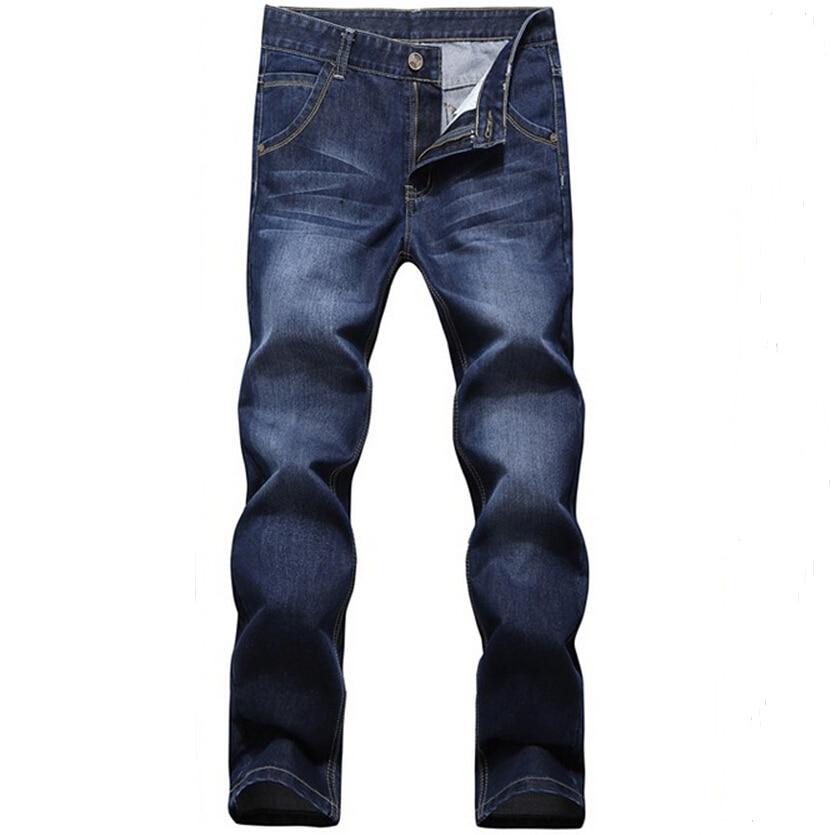 ФОТО 2016 Brand Jeans Man Pants Straight Pants Long Trousers Denim Jeans Men Robin Jeans Free shipping