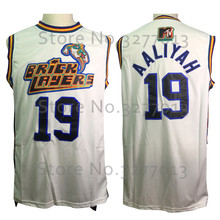 87bef59791f 2018 Wholesale Retro Basket Movie Jerseys #19 Aaliyah Bricklayers 1996 MTV  Rock N Jock Jersey Stitched White Shirts for Mens