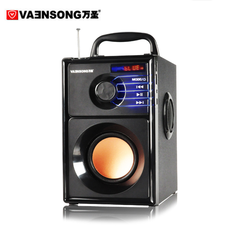 A10 Stereo 2 1 Subwoofer Bluetooth Speaker HiFi Portable Speakers USB TF Card Mp3 Play 10W
