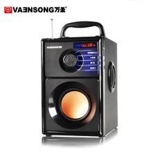 A10 Stereo 2.1 Subwoofer Bluetooth Speaker HiFi Portable Speakers USB TF Card Mp3 Play 10W Amplifier Loudspeaker FM Radio Column