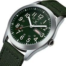 DEERFUN ספורט שעונים גברים יוקרה מותג צבא צבאי גברים שעונים שעון קוורץ זכר שעון Relogio Masculino horloges mannen saat