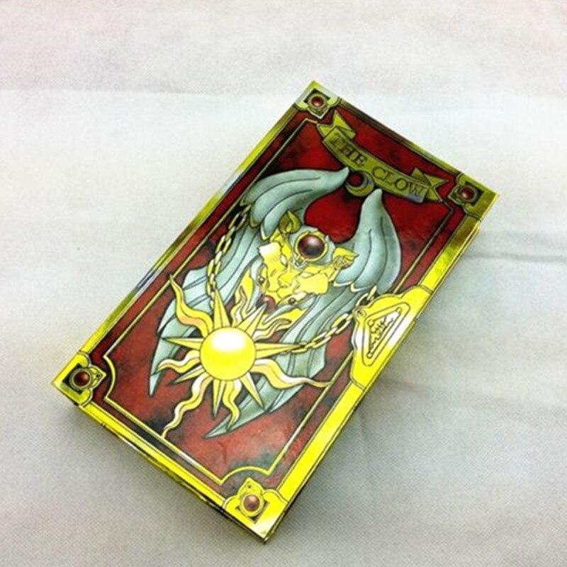 Japonais chaud Anime 56 pièces Cardcaptor Sakura magique Clow cartes ensemble avec or Clow livre anniversaire cadeau jouet Collection - 6