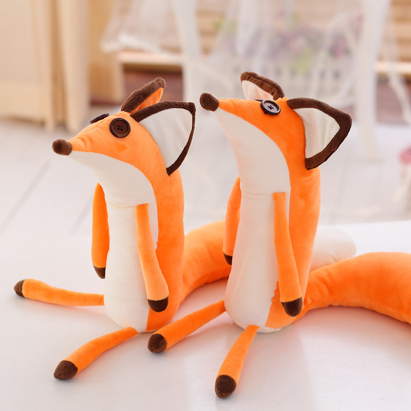 "The Little Prince Fox Plush Stuffed Toys Doll Le Petit Prince Plush 60cm/23.6"" For baby kids Birthday/Xmas Gift"