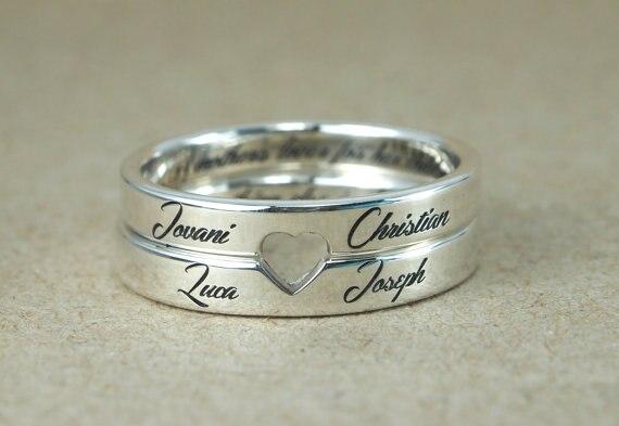 Aliexpress.com : Buy Retro Style Steel Custom Love Couple ...