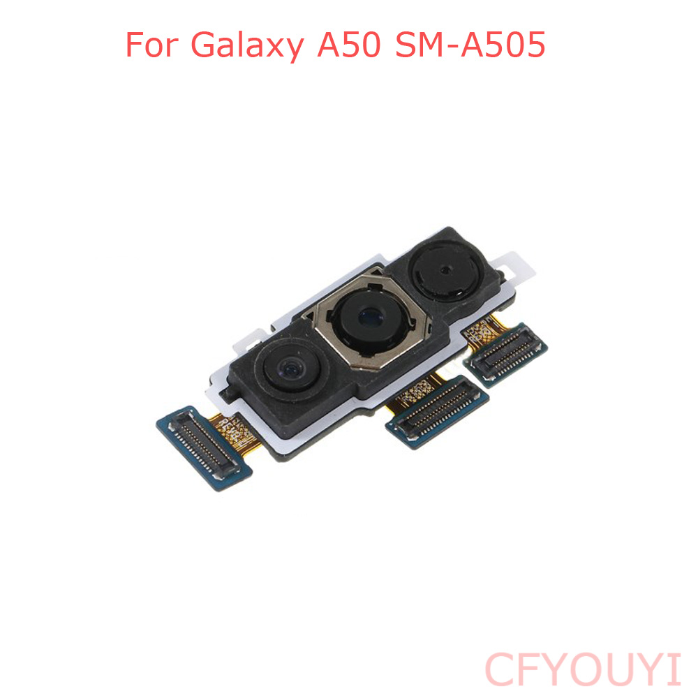 Original For Samsung Galaxy A50 A505 Big Main Back Rear Camera Flex Cable Replacement Part