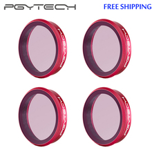 PGYTECH for Osmo Action Lens Filter UV /CPL / ND /ND PL 8 16 32 64 Professional Version Filter Set For DJI OSMO Action