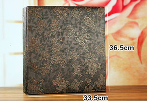 Image 5 - 600 כיסי 6 אינץ Interleaf סוג גדול גבוהה קיבולת אלבום תמונות עור מפוצל אלבומים תמונות בעבודת יד DIY הנצחה משפחה פרח