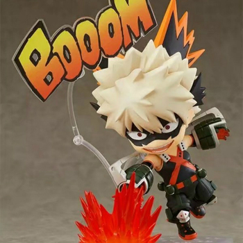 My Hero Academia Q Edition Bakugou Katsuki Christmas gift Change face Joints can be moved box-packed Toys Hobbies Action Figures
