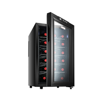 JC 48BWConstant temperature wineSmall domestic wine cabinet Ark of the tea Electronic refrigerator display cabinets