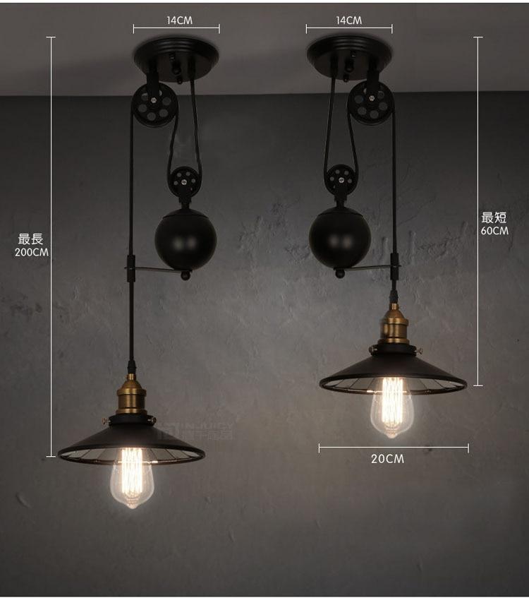 Nizza Dekor Pendelleuchte, Retro Vintage Anhänger Lampen Mit 3 ...