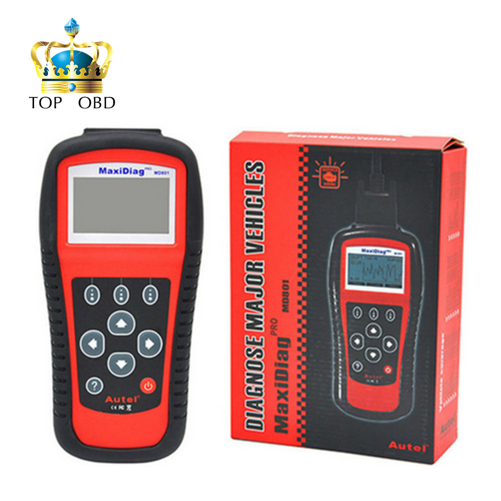 2017 Free shipping MD801 top-rated Autel MD801 Pro 4 in 1 code scanner(JP701+EU702+US703+FR704) MaxiDiag MD 801 Code Reader autel md801 pro 4 in 1 code scanner jp701 eu702 us703 fr704 maxidiag pro md 801 code reader