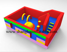 new design inflatable outdoor playground /inflatable bouncer combo for kids