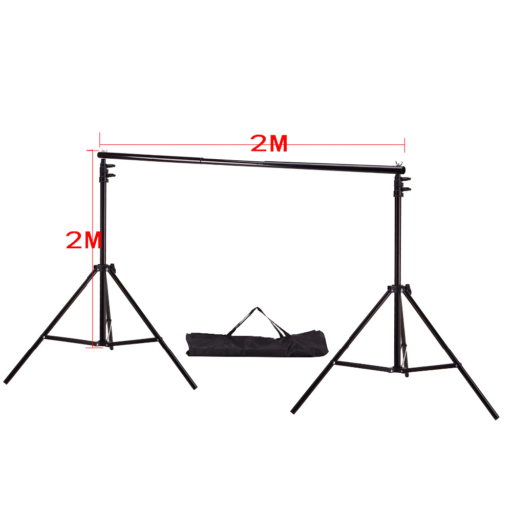 DHL Or EMS 2M X 2M 6 5ft 6 5ft Photo Background Support System Stands Adjustable