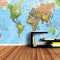 ShineHome-современные пользовательские обои с картой мира, 3d фотообои для гостиной, обои, домашний декор, диван, ТВ фон