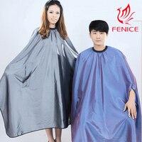 2 PCS par paquet Grande taille Adulte Coiffure Coiffeur Cape Robe Étanche cheveux de tissu de coiffure de coupe Wraps