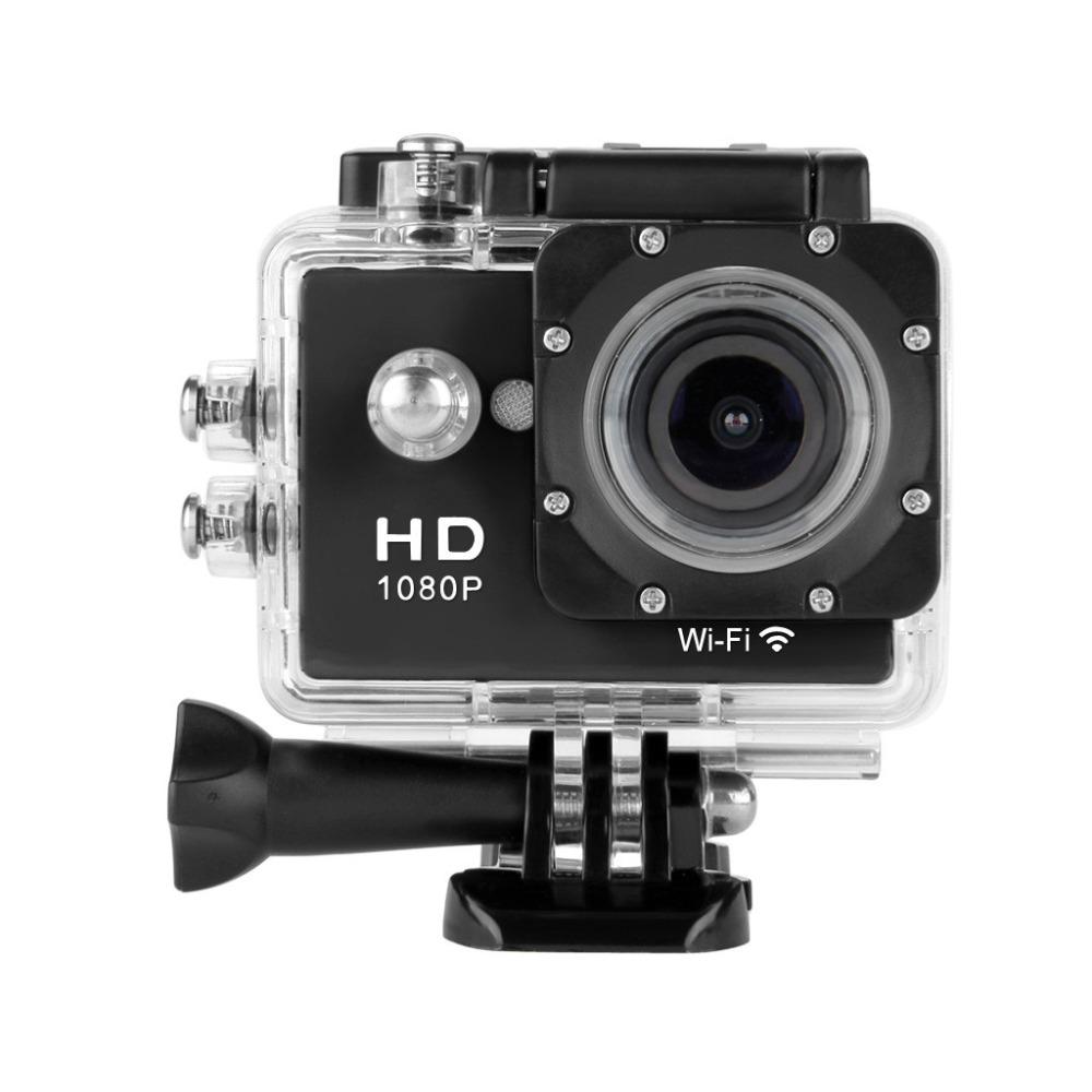 Prix pour Y8 WiFi Sport Caméra Full HD H264 1080 p Cam 30 M Étanche Caméras 12MP Camara Deportiva Vidéo DV Action caméra