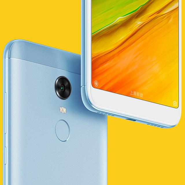 Original Xiaomi Redmi 5Plus 4GB RAM 64GB ROM 4000mAh mobile phone Snapdragon 625 Octa Core 5.99″ inch 18:9 FHD Fingerprint ID