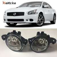 EEMRKE For Nissan Maxima 2007 2008 2009 9 Pieces Led Halogen Fog Lights 12V 55W Fog