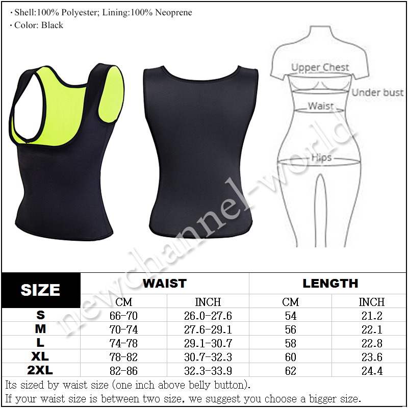 Women Neoprene Shaperwear Waist Traine Tummy Girdle Body Shaper Waist Cincher Corset
