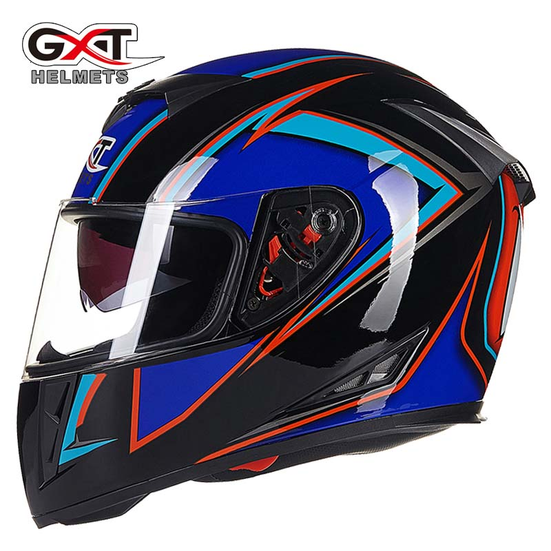 GXT G358 Classic Skull motocross full face Helmet, motorcycle MOTO electric bicycle safety headpiece men black blue motocross open face motorcycle helmet moto electric bicycle safety headpiece motorcyclist biker helmets