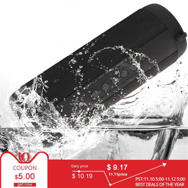 Wireless Best Bluetooth Speaker Waterproof Portable Outdoor Mini Column Box Loudspeaker ForJBL Speaker Design for iPhone Xiaomi best bluetooth speaker wireless waterproof portable outdoor mini column box loudspeaker big power aux 10w spiker sound system