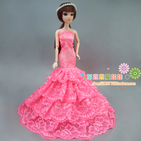 76af56e47bd46 Dress for barbie doll - Shop Cheap Dress for barbie doll from China ...