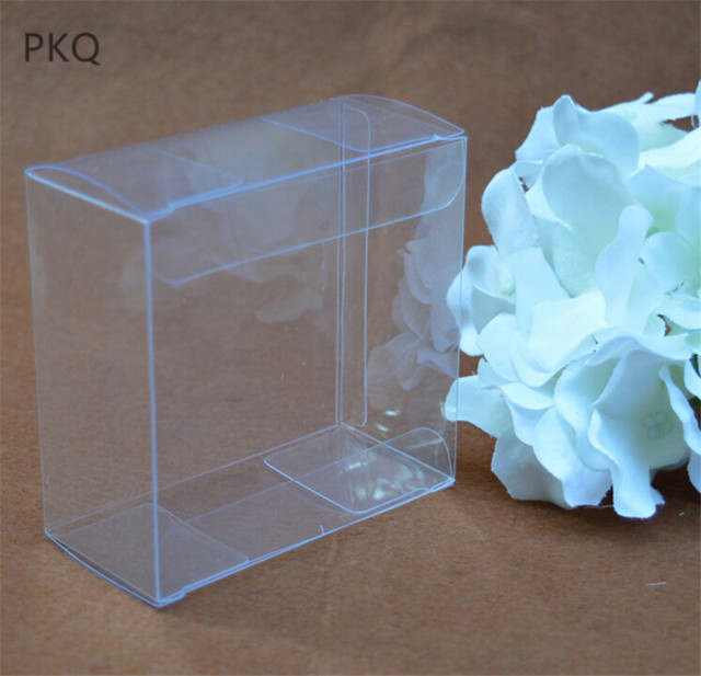 Small Clear Pvc Box For Giftcrafts Packaging600pcslot Wedding