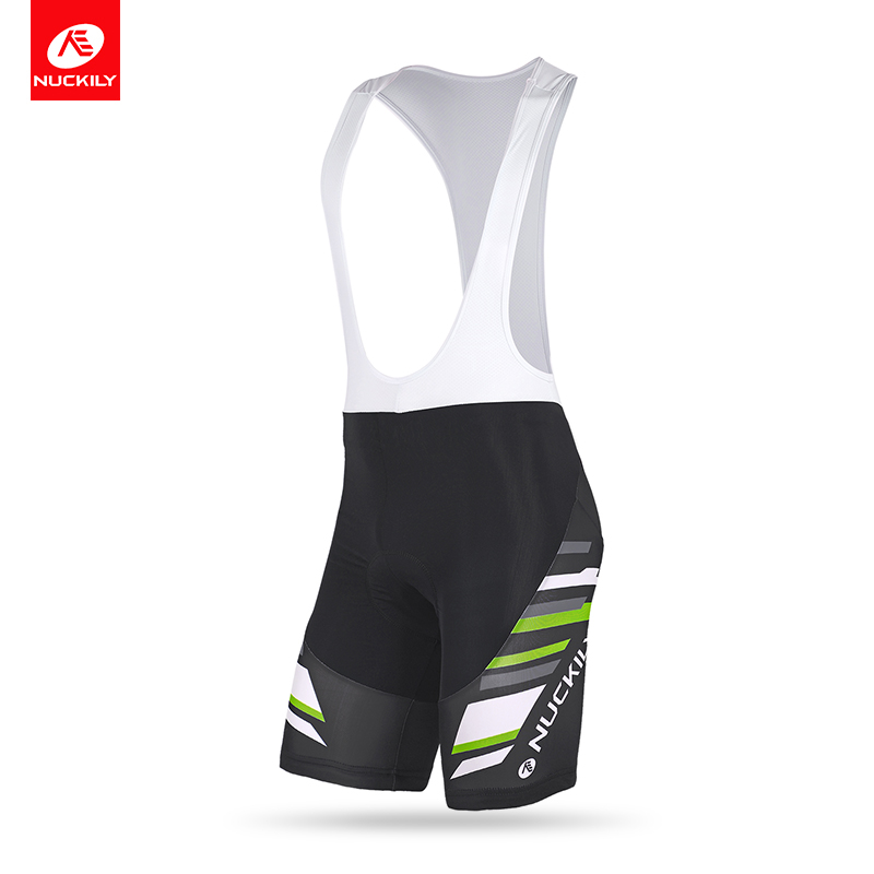 NUCKILY Cycling Bib Short Men Breathable Pro Summer Classic MTB Bike Pants 3D Breathable Padded Quick
