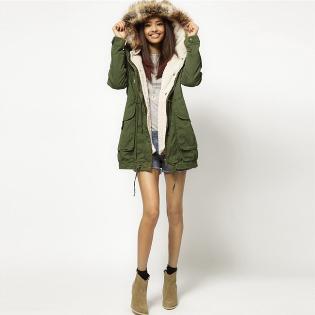 Girls Winter Parka Coats | Fashion Women's Coat 2017