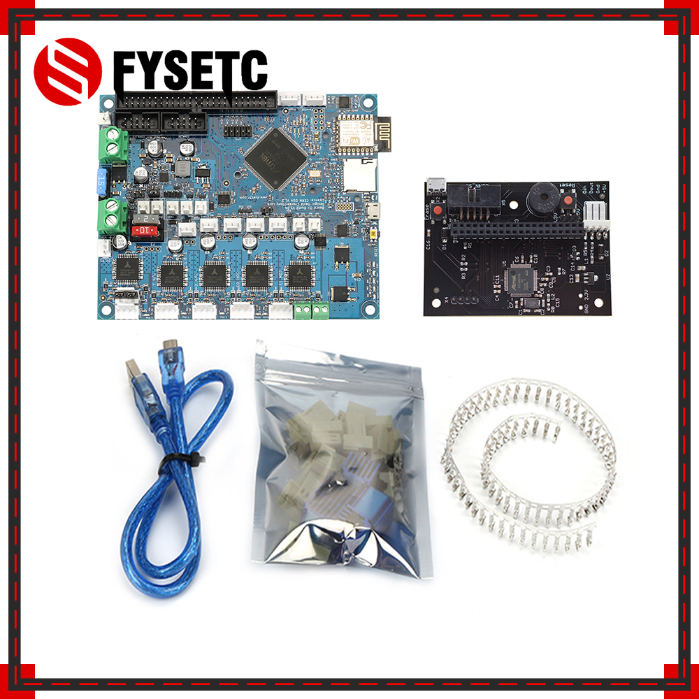 Cloned Duet 2 Wifi V1 04 DuetWifi Advanced 32 Bit Electronics PanelDue Connected Board For BLV