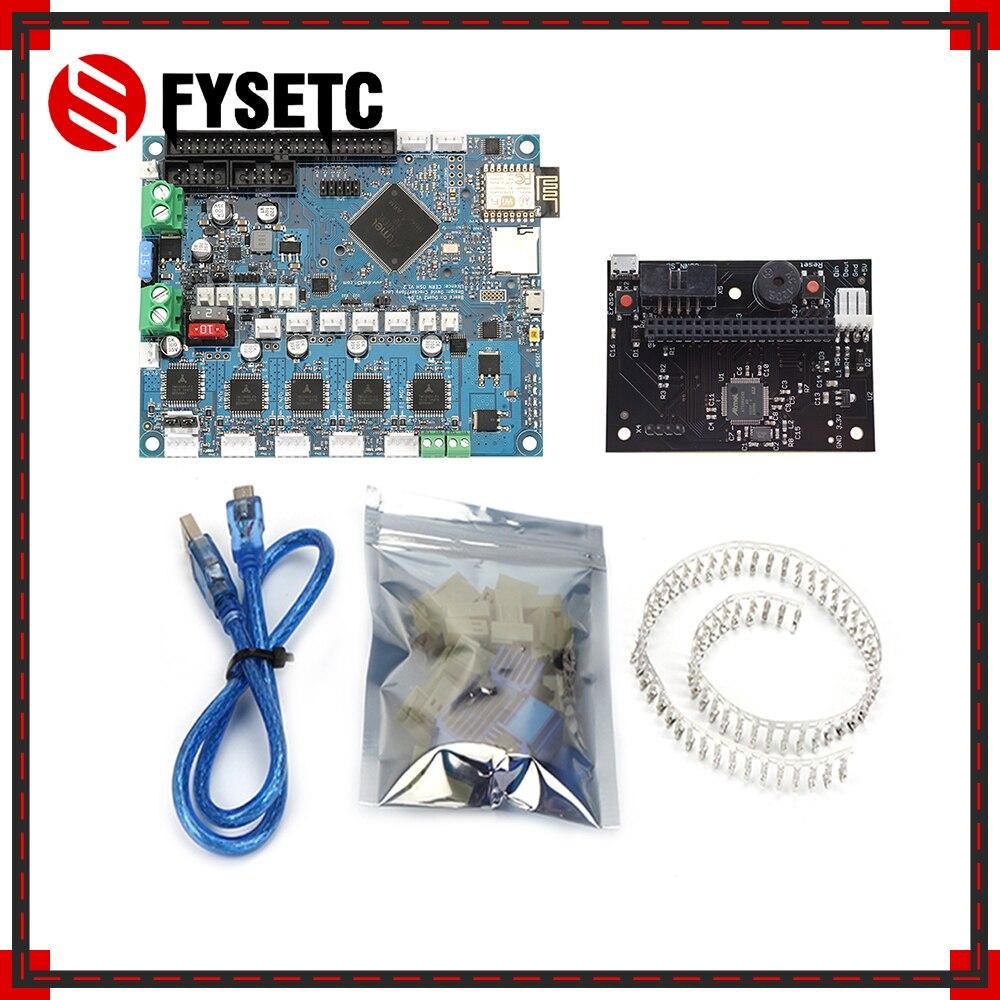 Upgrades de Versão mais recente Dueto 2 Wifi V1.04 Placa Controladora Clonado DuetWifi 32bit Motherboard Para Impressora 3D Avançada Máquina CNC