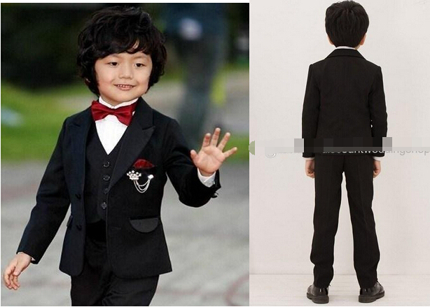 2fc16626581d Boys Formal Occasion Suits Kid Birthday Party Suits Prom Business ...