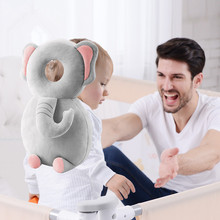 Baby Head Protection Pad Toddler Headrest Pillow Baby Neck Nursing Drop Resistance Cushion Toddler Children Protective Cushion