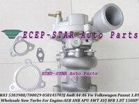 Free Ship K03 25 53039880025 53039700025 058145703K Turbo For AUDI A4 A6 VW Passat 1.8T AEB ANB APU AWT AVJ BFB 1.8L 150HP