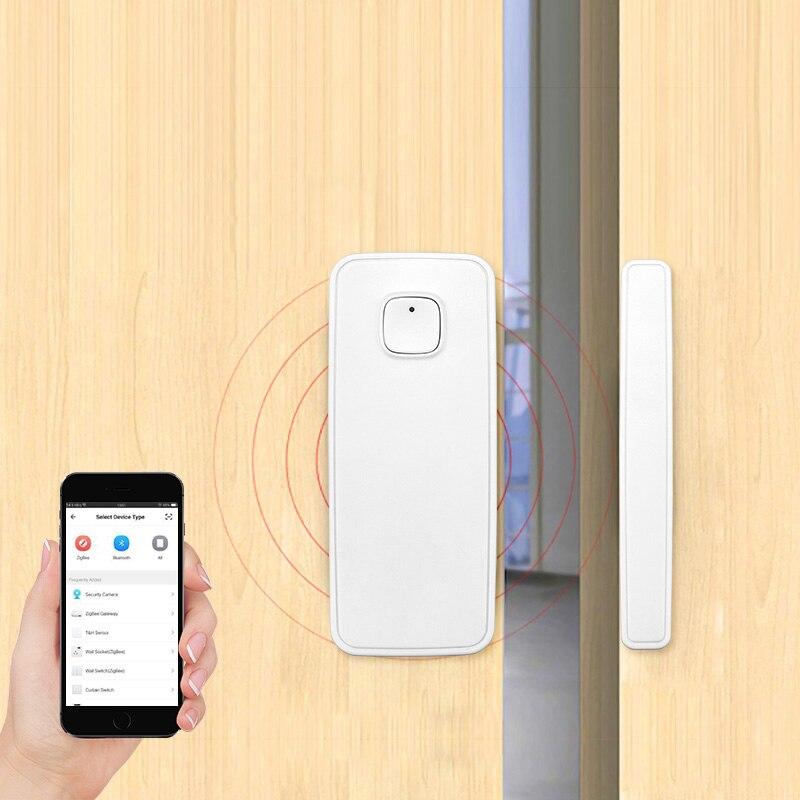 FUERS 5 pièces sécurité à domicile sans fil WiFi vie intelligente sécurité porte fenêtre alarme capteur détecteur Amazon Alexa Compatible APP contrôle - 6