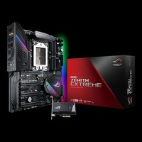 ROG ZENITH EXTREME X399 Desktop Motherboard 802.11ad Wi Fi DDR4 10G LAN Support TR4 M.2 Cooler Mainboard