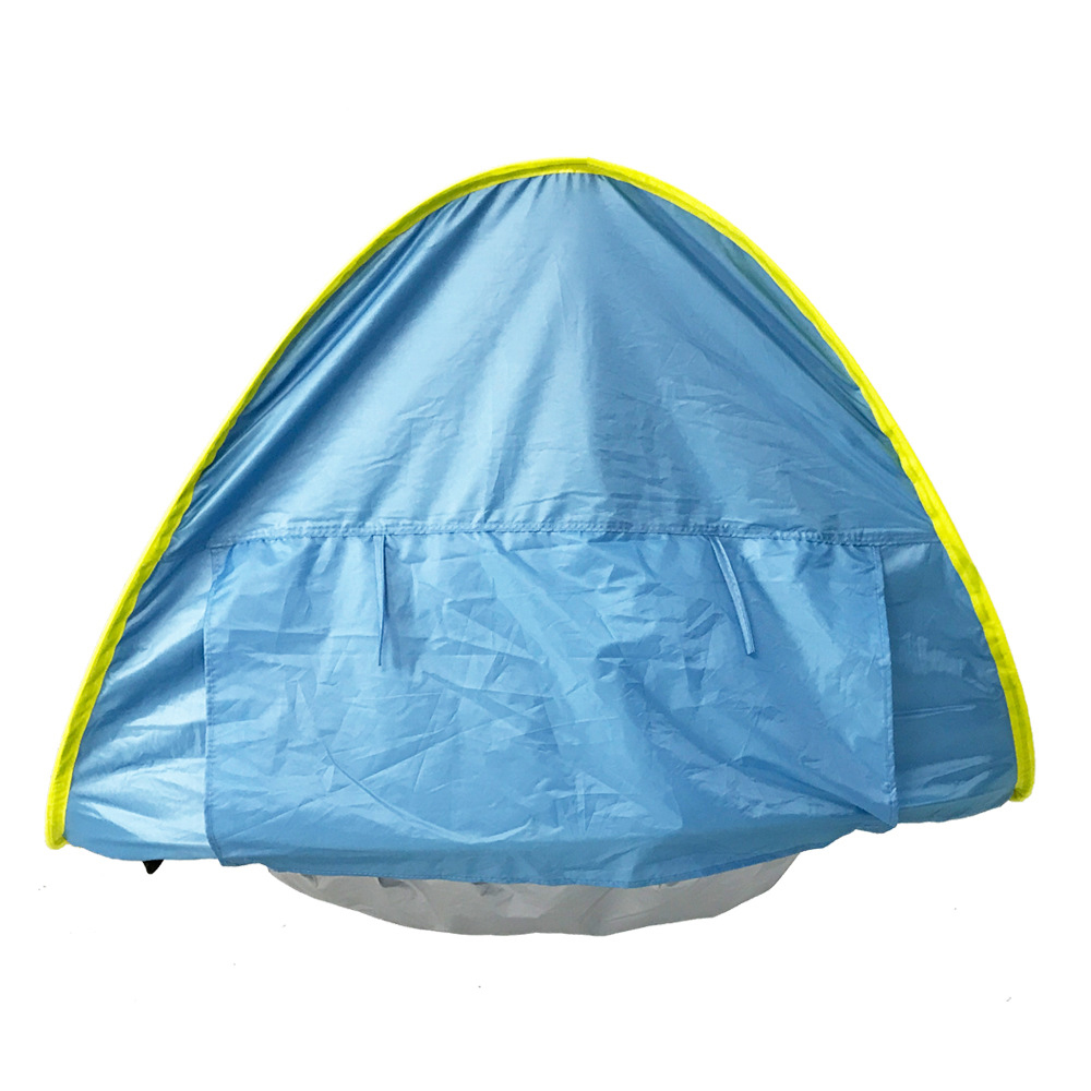 Quick Automic Opening Pop Up Baby Tent With Small Beach Pool Uv Protection Outdoor Camping Sun Shelter Tourist Tents Waterproof In From Sports
