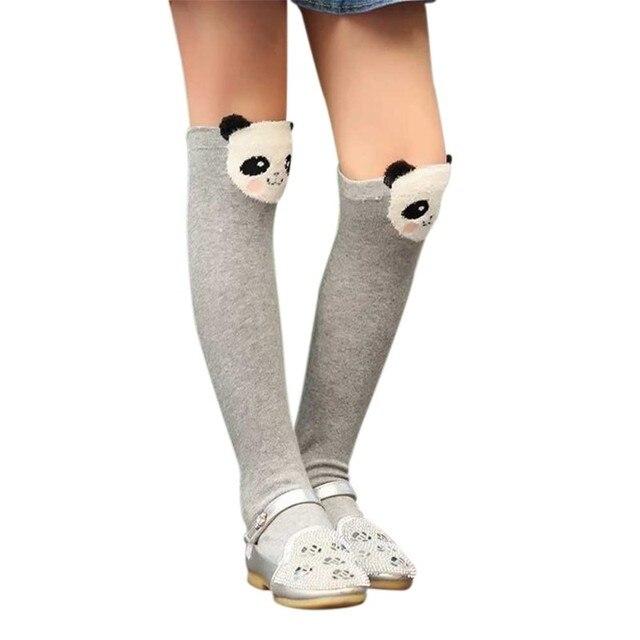 a5684e3831 Stockings Cute Cartoon Children Three-dimensional Tube Socks Cotton One  Size Knee Socks 7 Styles Animal Print Socks