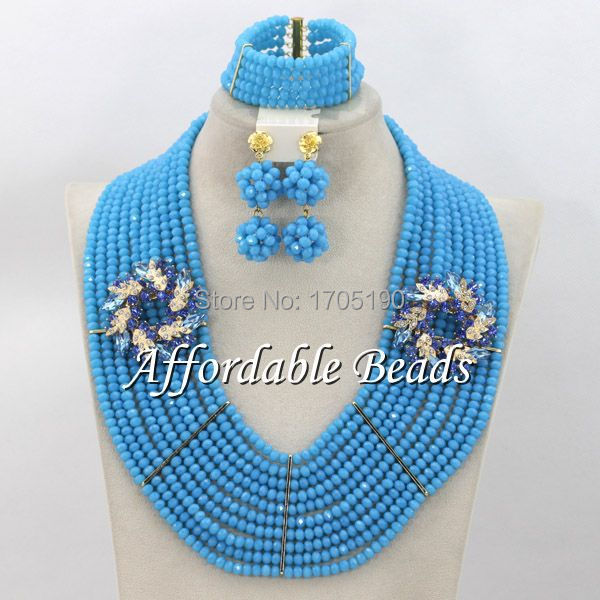 African Wedding Beads New Arrival Fashion Jewelry Beads Set Wholesale ABW068African Wedding Beads New Arrival Fashion Jewelry Beads Set Wholesale ABW068