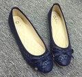 Мода женская обувь удобные плоские туфли Новое прибытие-72 Балетки обувь большого размера обуви квартир Женщин