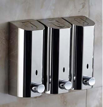 online kopen wholesale rvs wandmontage zeepdispenser uit china rvs, Badkamer