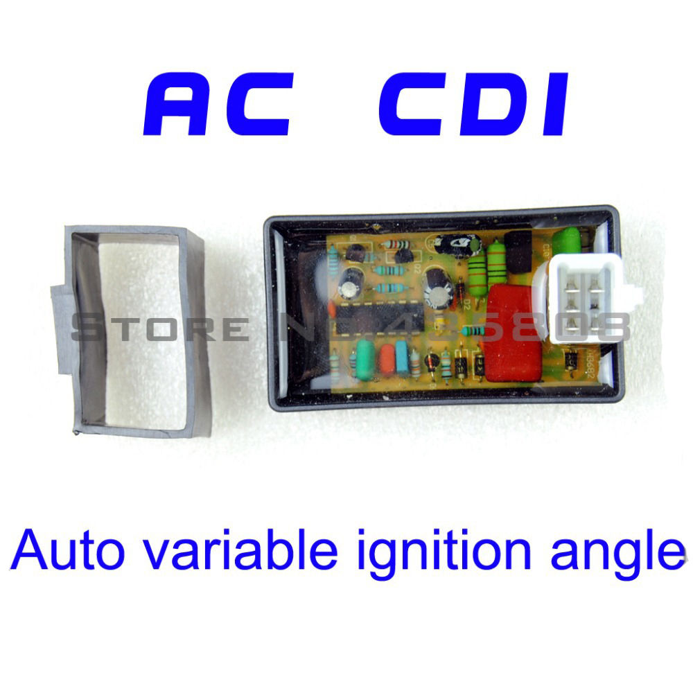 5PIN AC CDI Box Auto Variable Ignition Angle Scooter Monkey Go-Kart ATV DIO 50 Spree XR TGB Laser R5 R9 TGB