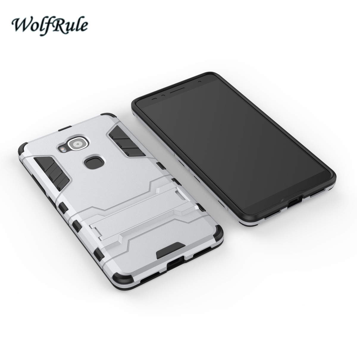 WolfRule Anti-knock Case Huawei G8 Cover Soft Rubber + Hybrid Plastic - Reservdelar och tillbehör för mobiltelefoner - Foto 5