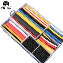 360Pcs Thicken Heat Shrink Tubing Sets Insulation Shrinkable Tube Polyolefin Termoretractabil 2:1 Thermal Wrap Wire Cable Tool