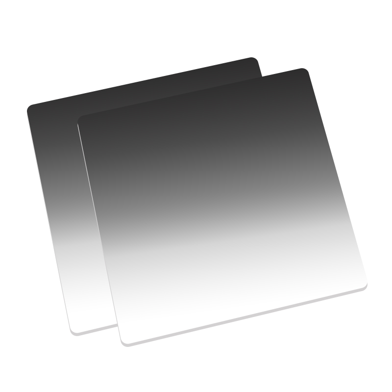 Nisi Soft Gradient ND Filter 4x 5.65 GND2 4 8 16 Nano Cinema Square Filter For Video Camera nisi hard nano gnd 8 0 9 square graduated filter for nikon more black white 100 x 150mm